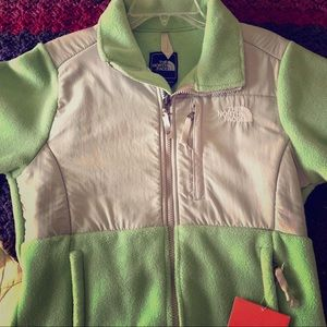 The North Face Women's Denali -Light Green -Small